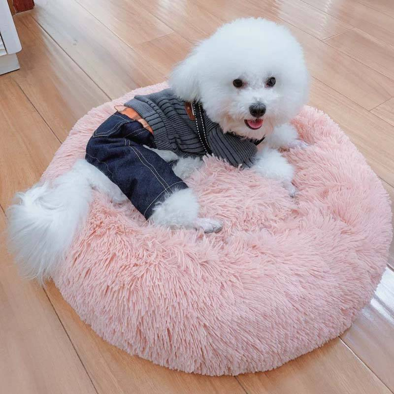 Pet's Round Shaped Fluffy Bed Best Sellers Cats & Dogs Pet Beds, Mats & Houses