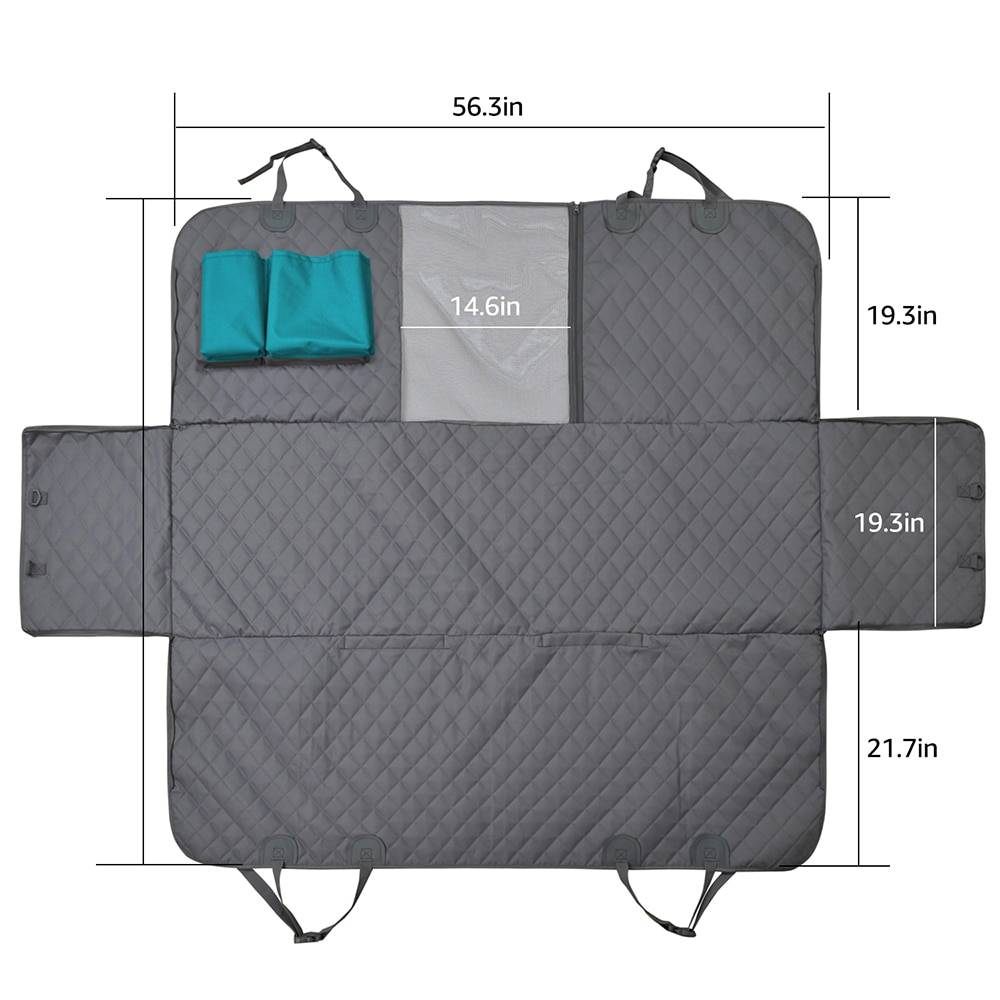 Quilted Pet Carrier for In-Car Use Accessories Cats & Dogs Pet Collars, Harnesses & Leashes