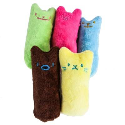 Cat's Funny Catnip Plush Toy Cat Toys Cats & Dogs