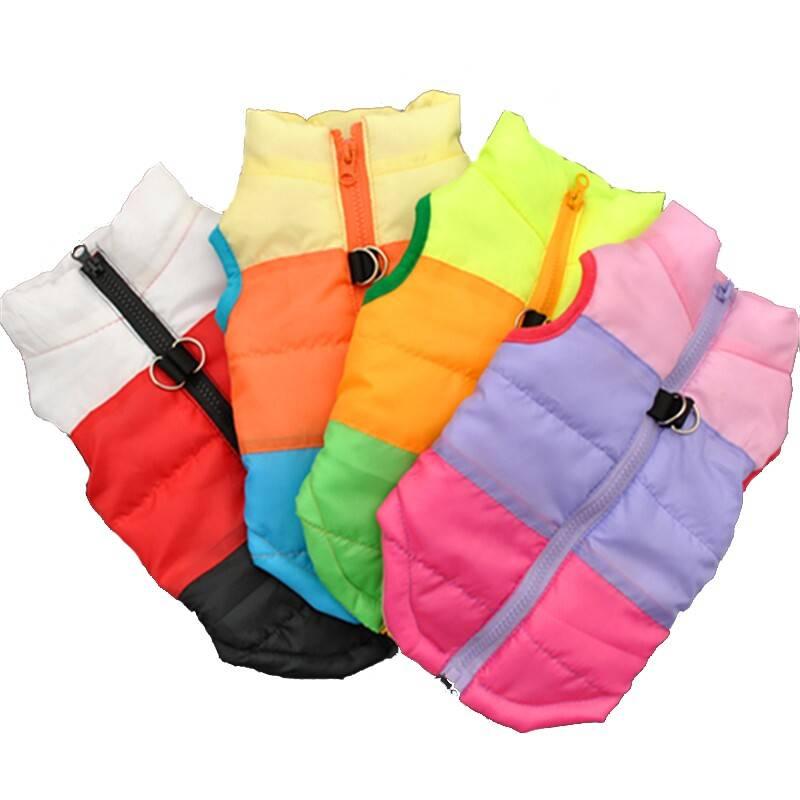Colorful Winter Pet's Vest