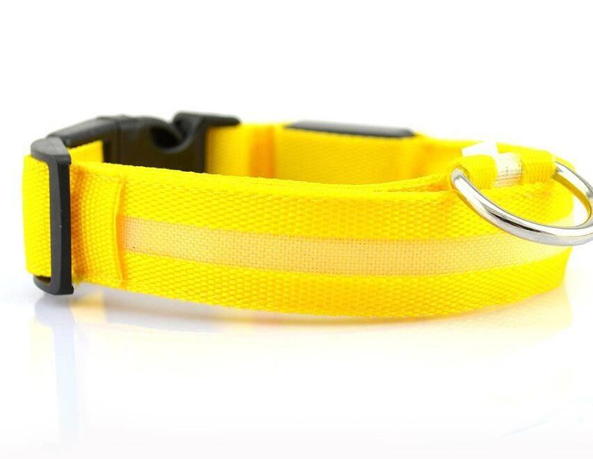 Dogs Nylon LED Collar