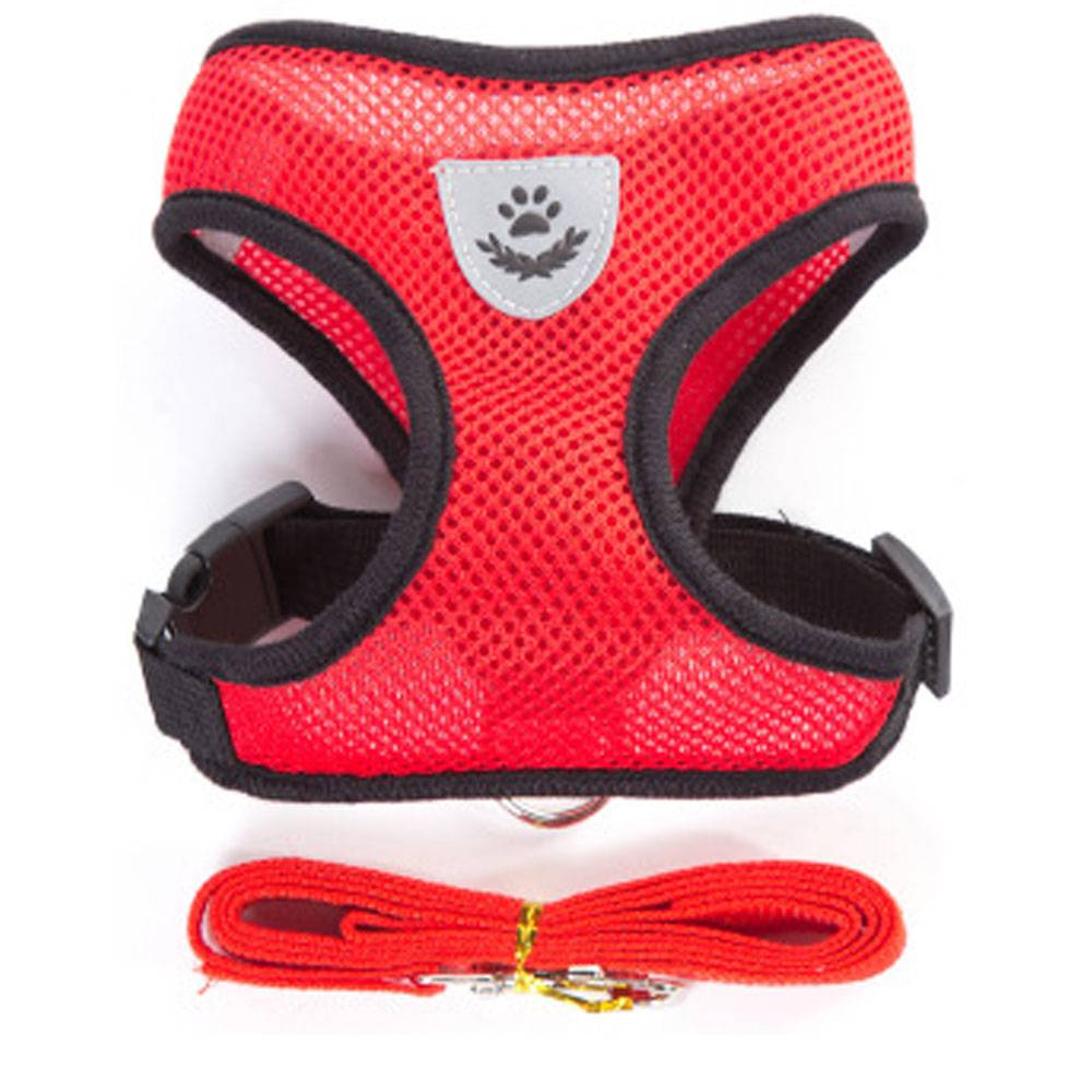 Breathable Small Harness and Leash Fish & Aquatic Pet Collars, Harnesses & Leashes