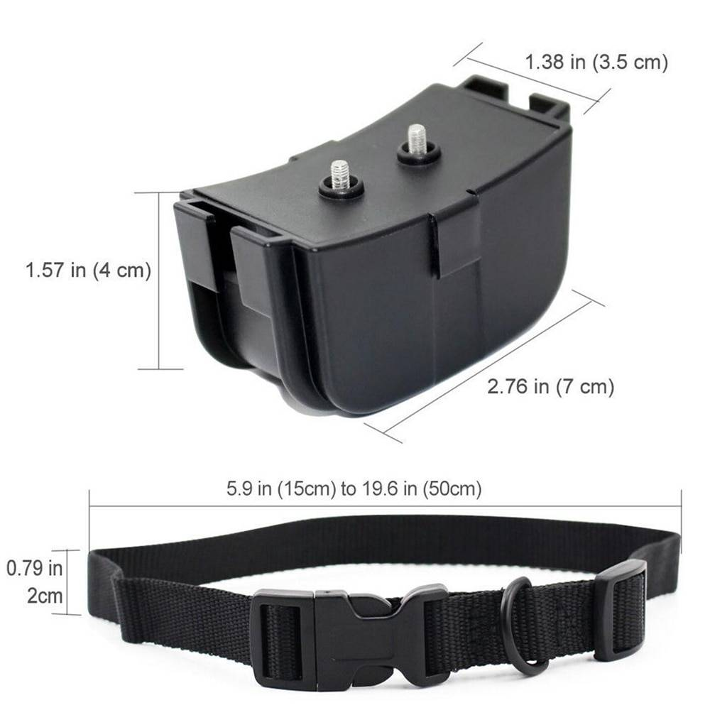 300 Electronic Dog Collar Remote Control Dog Collars With Static Shock,Vibration, Beep Modes LCD Electric Dog Shock Collar