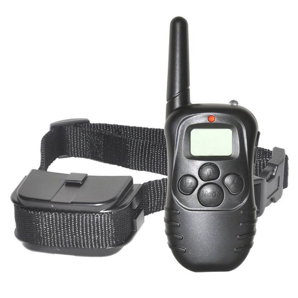 300 Electronic Dog Collar Remote Control Dog Collars With Static Shock,Vibration, Beep Modes LCD Electric Dog Shock Collar Cats & Dogs Cats & Dogs Products Pet Collars, Harnesses & Leashes
