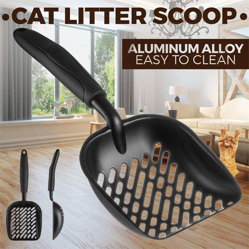 Cat Litter Scooper Metal Scoop Sifter Deep Shovel Cleaner Tool for Cleaning Box Cats & Dogs Cats & Dogs Products Cleaning Pet Toilet